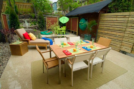 Use The Backyard To Extend Your Living Space This