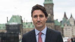 Trudeau, Harper Hold Transition