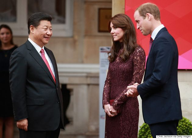 Kate Middleton Dons Dolce & Gabbana To Meet Chinese President And Jackie