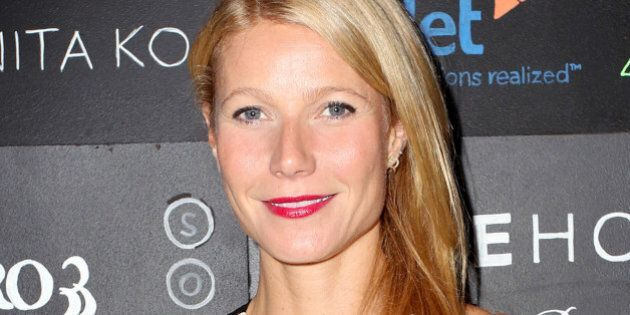 LOS ANGELES, CA - NOVEMBER 19: Actress Gwyneth Paltrow attends imagine1day Annual Gala Honoring Tracy...