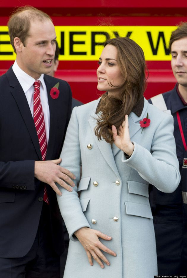 Kate Middleton Keeps Baby Bump Under Wraps In Chic