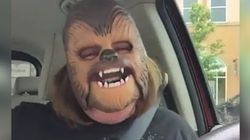 Try Not To Smile As This Woman Loses It Over A Chewbacca
