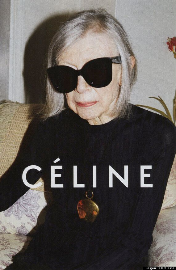 Joan Didion, Céline Join Forces In New 2015 Ad