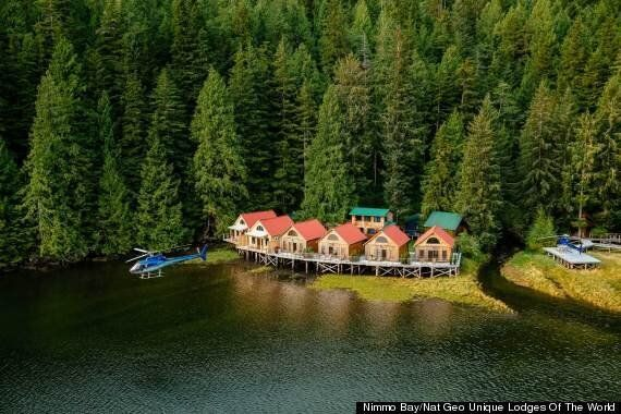Nimmo Bay Resort Chosen As A National Geographic Unique World