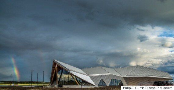 Philip J. Currie Dinosaur Museum Wins International