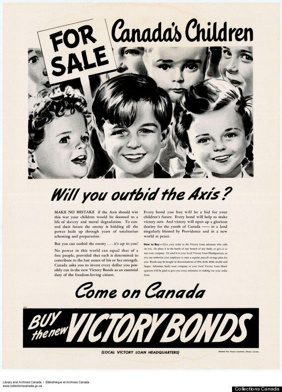 Remembrance Day: 21 Propaganda Posters That Rallied Canadians In