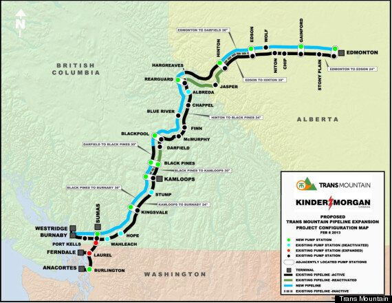 Kinder Morgan Trans Mountain Pipeline Approved, With LOTS Of