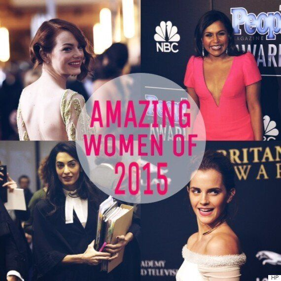 The Most Outstanding Women Of 2015, According To