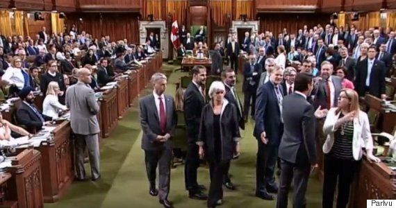 Elizabeth May Has Sobering Reminder For MPs: You're