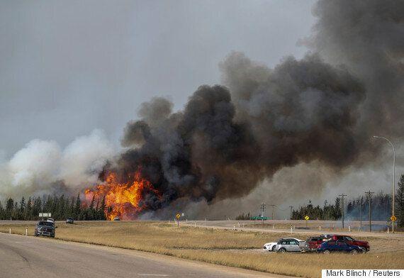 Fort McMurray Fire Crosses Saskatchewan