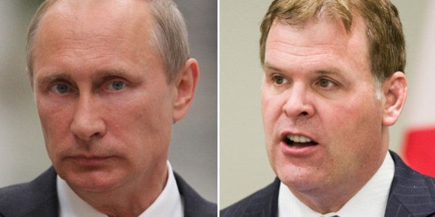 Russia Says John Baird's Ukraine Crisis Comments Are
