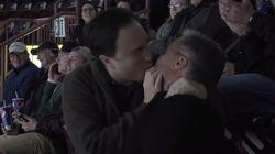 KISS CAM: '22 Minutes' Funnyman Smooches Ex-Newfoundland