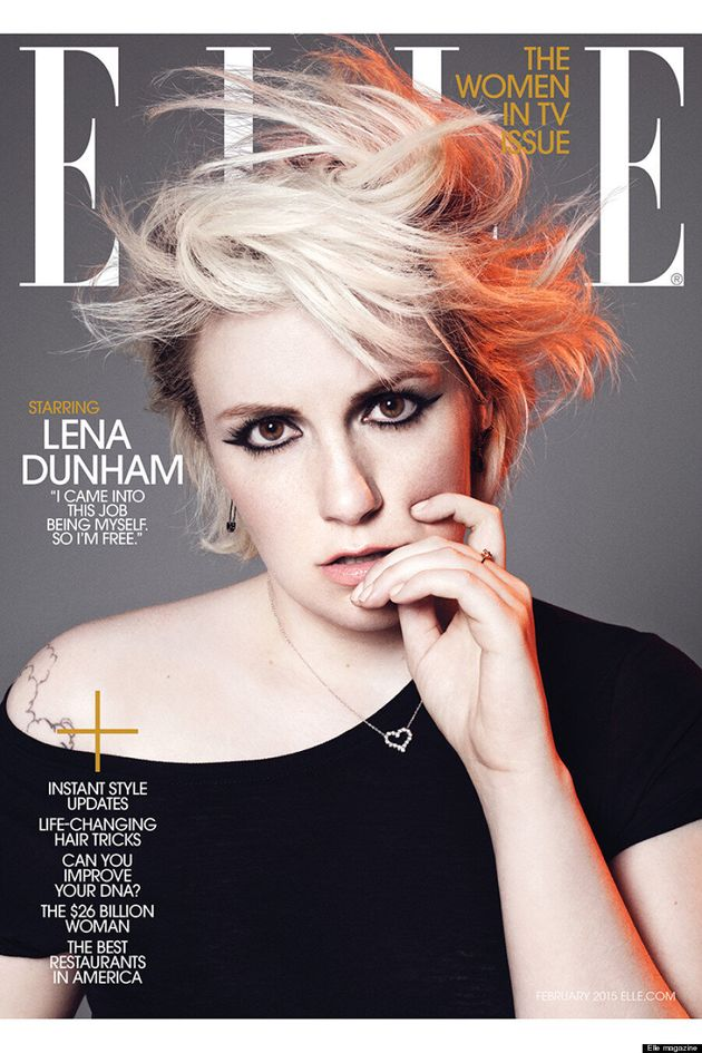 Lena Dunham Gets A Cool New Look For Elle