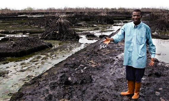 Lost In The Spectacle Of 'News' Was Another Oil Spill We Barely