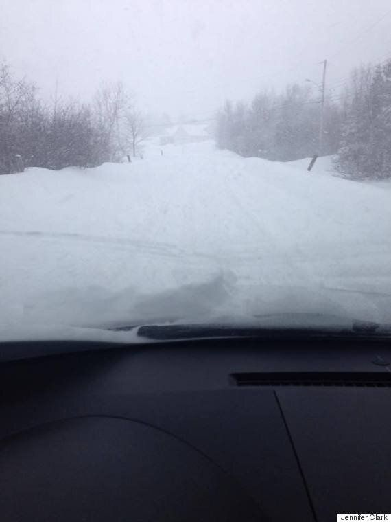 Atlantic Canada Snow Photos Show Easterners Walled