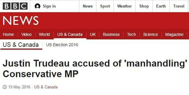 Justin Trudeau's House Of Commons Incident Gets Canada Some Worldwide
