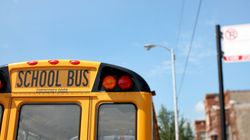 Tanker Truck Crashes Into Ontario School Bus, 7 Kids