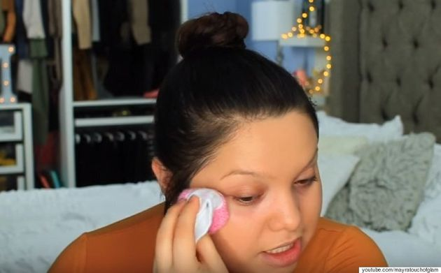 Beauty Vlogger Mayra Isabel Shows Us How To Apply Makeup With A