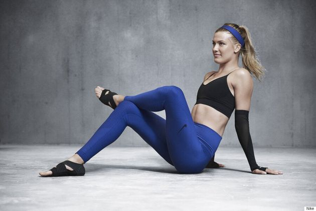 Eugenie Bouchard Says These Nike Pants Will Make Your Butt Look