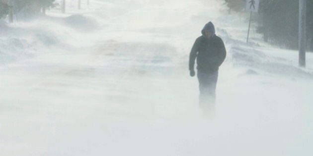 Maritimes And Quebec Winter Storm Forces Travel