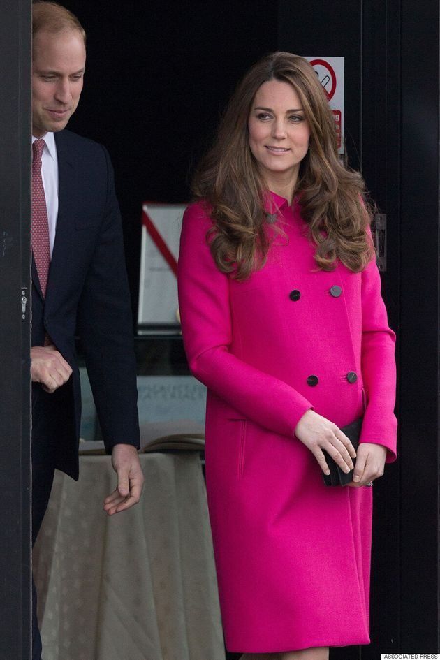 Kate Middleton Looks Pretty In Pink Coat For Charity