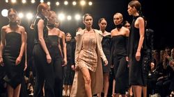 All-White Group Of Models Walk To 'Formation,' Sh*t Goes