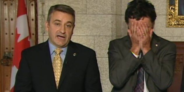 NDP MP's Facepalm Captures A Nation's