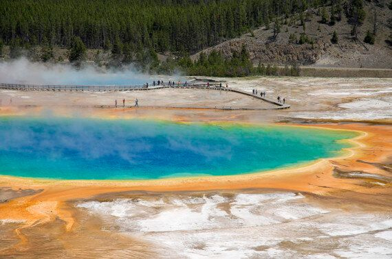 High On Life Members Charged For Walking On Grand Prismatic Spring In Yellowstone