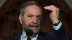 Mulcair Wants Inquiry Over Mountie Monitoring Of