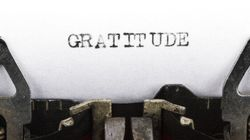 Sticky Situation: Adopt An Attitude Of Gratitude At