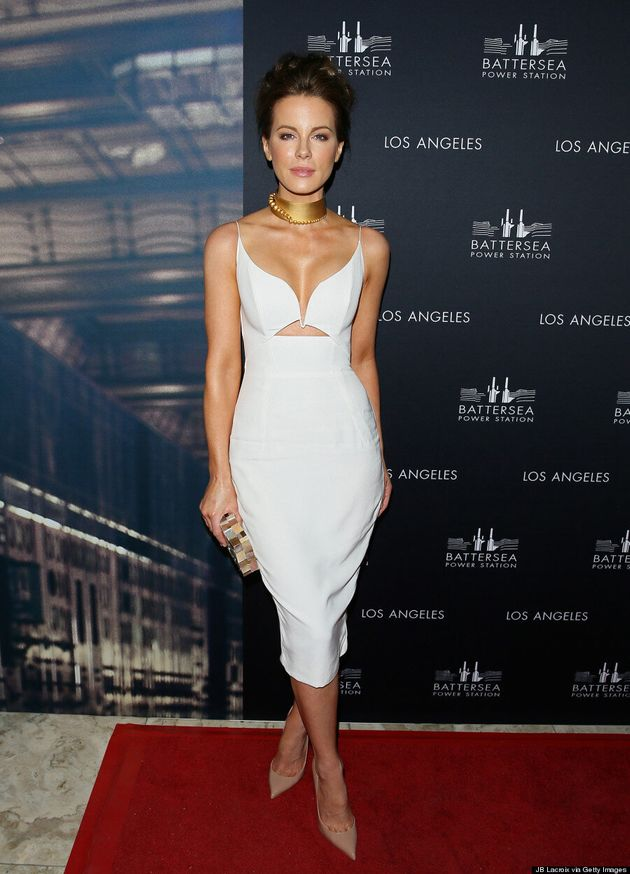 Kate Beckinsale Is A Knockout In Curve-Hugging