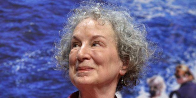 VINCENNES, FRANCE - SEPTEMBER 13; Canadian writer Margaret Atwood attends the book fair America on September...