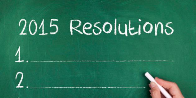 How to Make Sure Your New Year's Resolutions Are