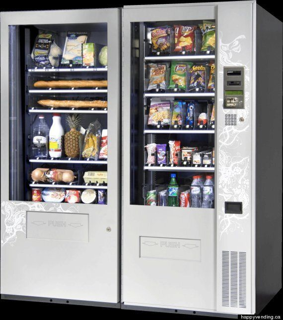Grocery Vending Machines Coming To