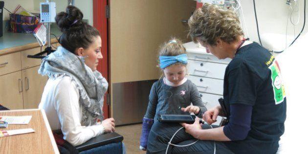 Alberta Children's Hospital Finds New Ways To Help Kids Manage