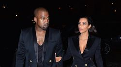 Kim And Kanye Step Out In Matching