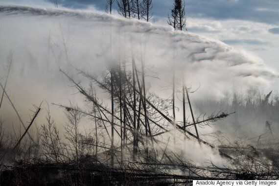 Fort McMurray Fire: Rain Could Be A Double-Edged Sword For Wildfire-Stricken