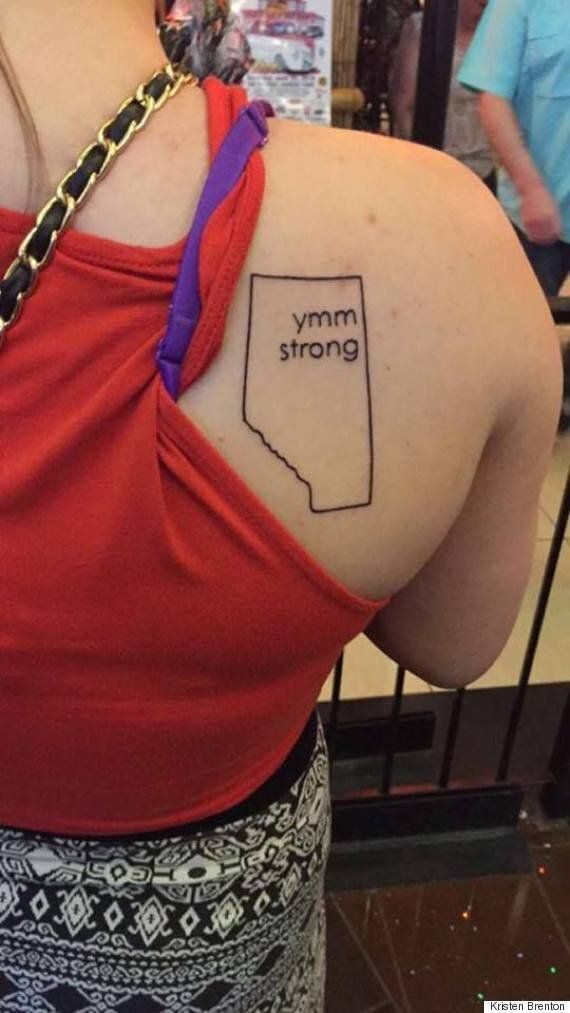 Alberta Women Explain Why They Put Fort McMurray Tattoos On Their