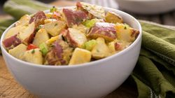 Light And Creamy Red Potato Salad