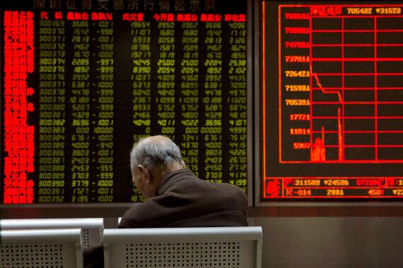 TSX Plunges As Panic Grips Global Markets Following Chinese Trading