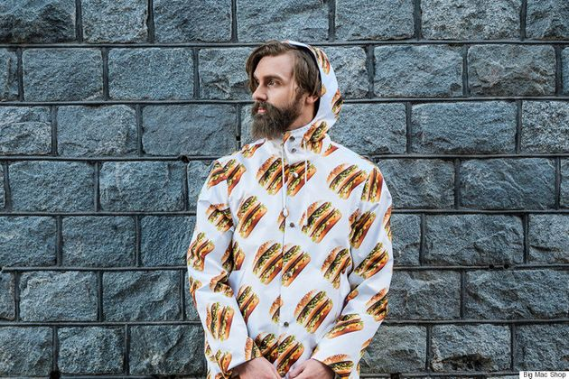 McDonald's Launches A Big Mac Clothing Line, Because Why