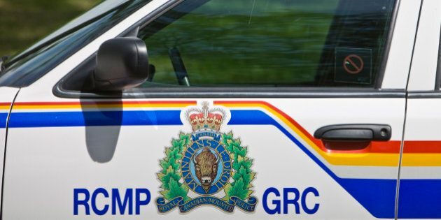 Police car at the RCMP Academy in Regina, Saskatchewan,