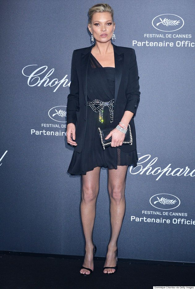 Kate Moss Makes Triumphant Return To Cannes Film Festival, Matches With Sister
