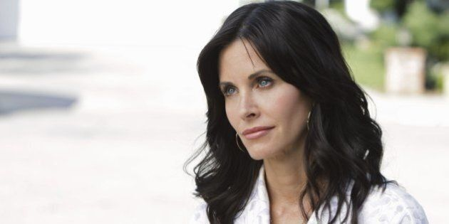 COUGAR TOWN - 'Pilot' - Courteney Cox stars as Jules, a recently divorced single mother exploring the honest truths about dating and aging in our beauty and youth obsessed culture, on 'Cougar Town,' premiering WEDNESDAY, SEPTEMBER 23 (9:30-10:00 p.m., ET) on the ABC Television Network. While most women in their twenties go through life experiencing the challenges and often humorous pitfalls of meeting men, Jules took on the responsibilities of marriage and raising a son. Now in her forties, she embarks on a journey to self-discovery whilst surrounded by fellow divorcees and singletons eager to live or re-live a time gone by. (Michael Desmond/ABC via Getty Images) COURTENEY COX