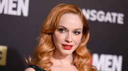 Christina Hendricks' Dramatic Two-In-One Dress Wows Us