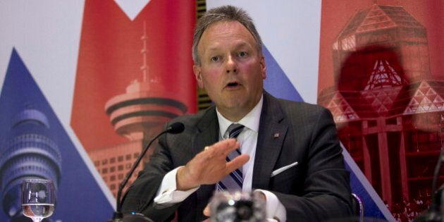 BoC Governor Stephen Poloz Defends Surprise January Rate Cut In London