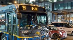 ► 'Blood' Pouring From Vancouver Bus Ceiling Terrorizes