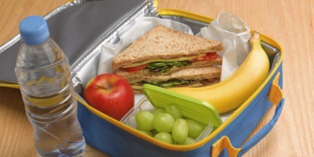 Healthy 5-a-day lunch box