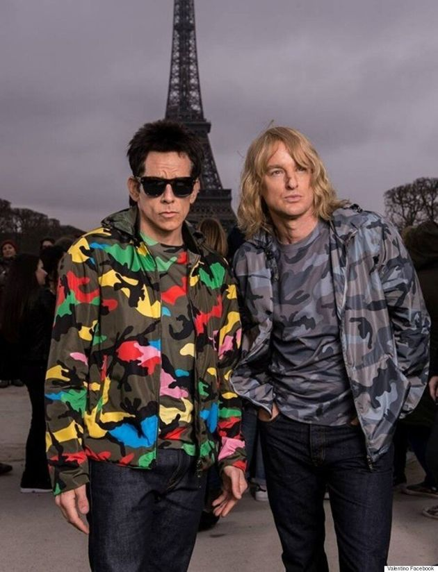 Ben Stiller And Owen Wilson Return To 'Zoolander' Roots For Valentino Photo