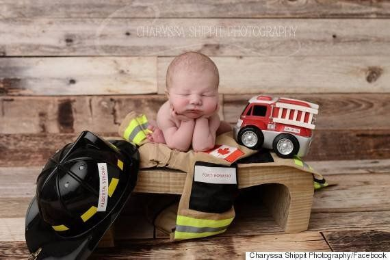 Fort McMurray Fire: Baby's Portrait Captures City's Greatness, Photographer